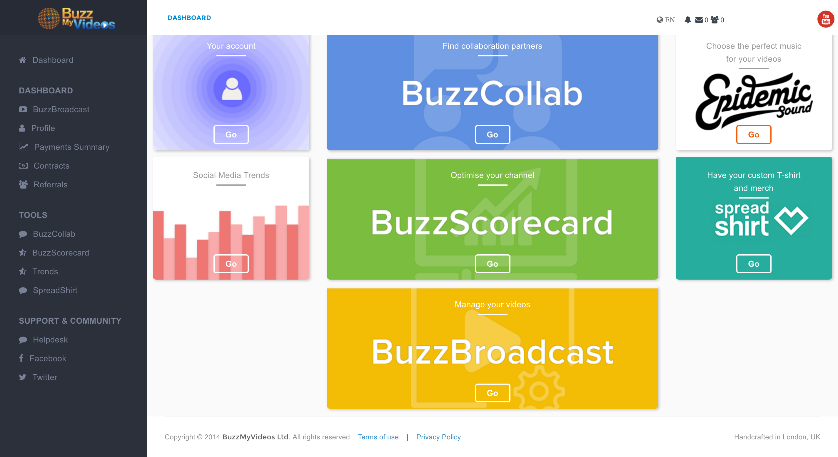Dashboard (BuzzBroadcast) [ENG] (1)